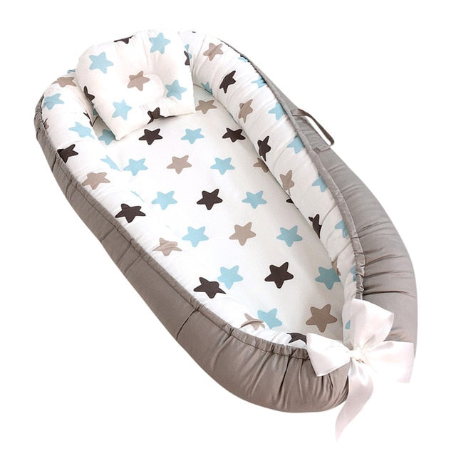 Infant portable baby bed