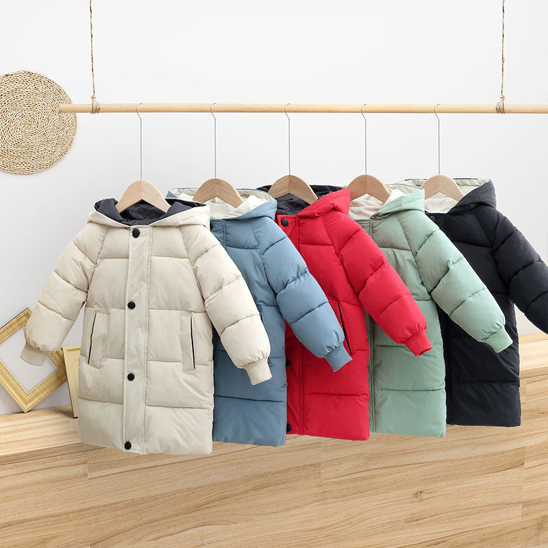 Unisex Winter Hooded Jacket
