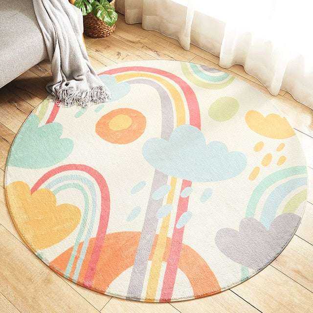 Baby Play Mat - Round Crawling Carpet