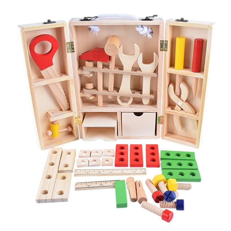 Children's Wooden Toolbox