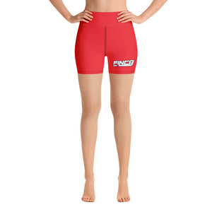 FINCA Logo Yoga Shorts