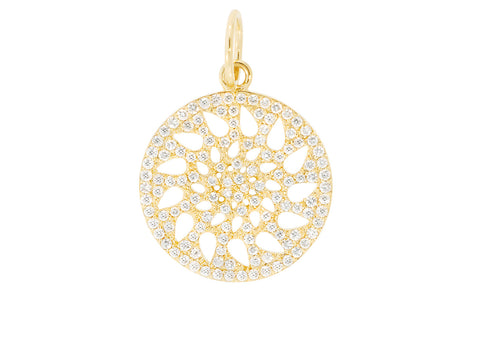 19mm Diamond Signature Pendant