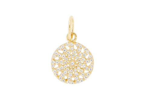 13mm Diamond Signature Pendant