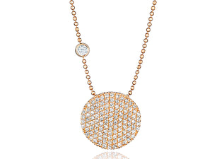 Load image into Gallery viewer, Bezel-Set Diamond Infinity Necklace