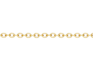 Yellow Gold 2mm Rollo Chain
