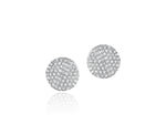 Diamond Infinity Stud Earrings