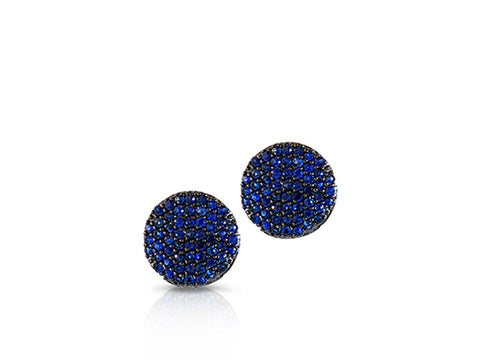 Small Infinity Stud Earrings