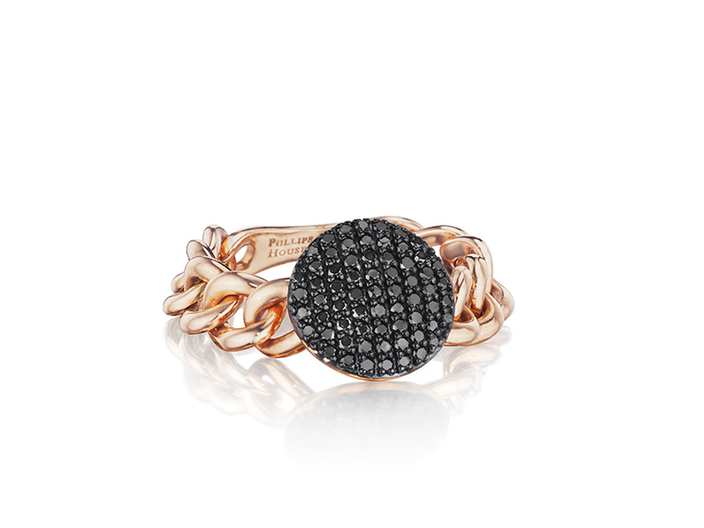 Mini Infinity Chain Link Ring