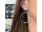 Enchanted Double Loop Earrings