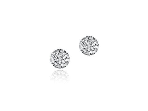 Infinity Micro Stud Earrings