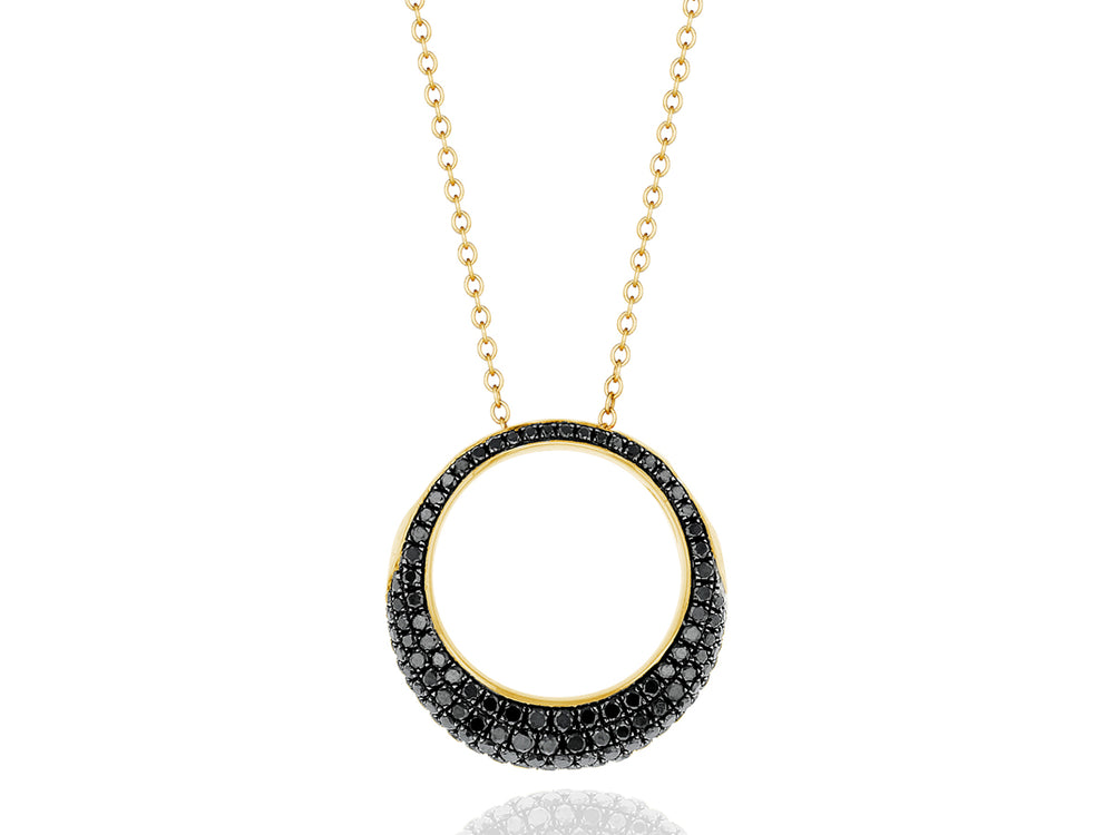 Dome Revolution Ring Necklace