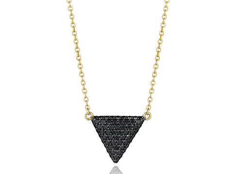 Triangle Contrast Necklace