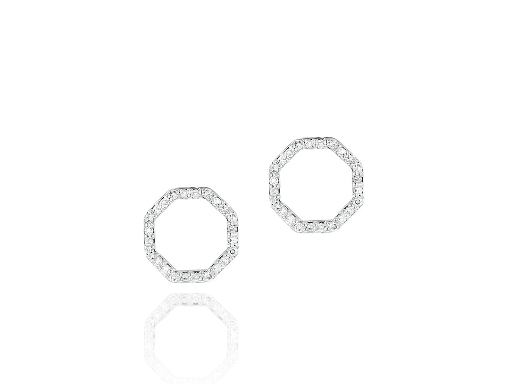 Hero Open Stud Earrings