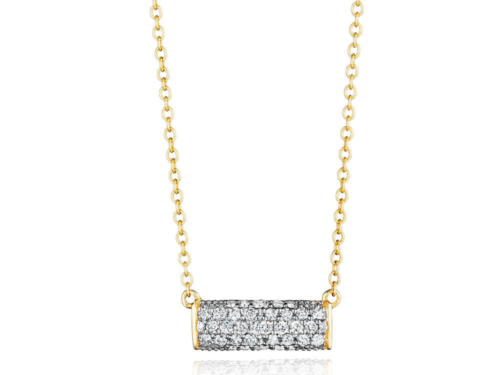Contrast Petite East-West Necklace