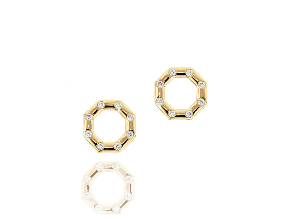 Hero Corner Stud Earrings