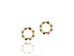 Hero Dusk Corner Stud Earrings
