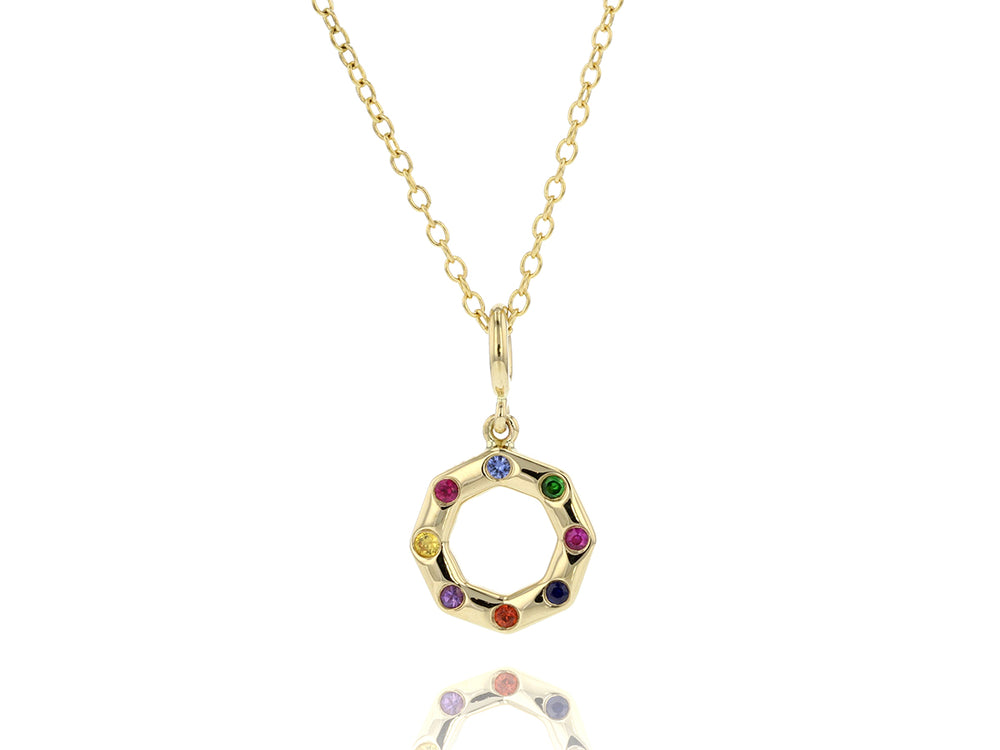 Rainbow Corner Hero Necklace