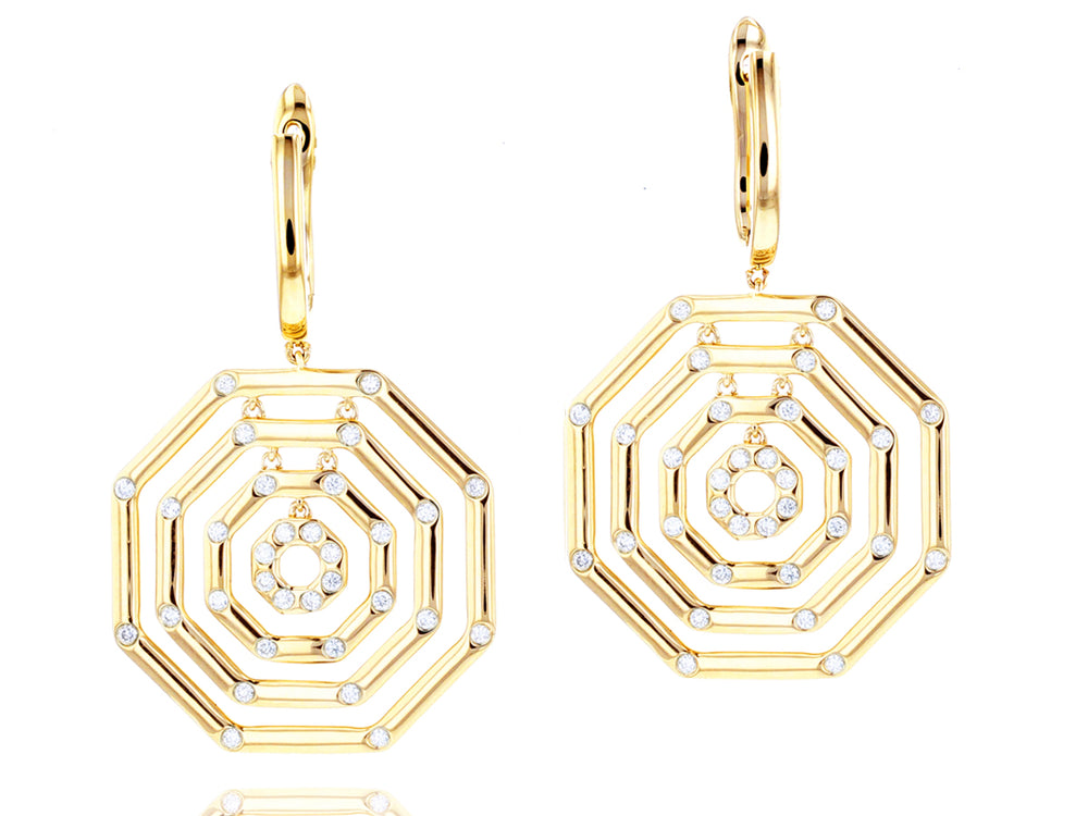 Hero Corner Layer Earrings