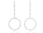 Enchanted Drop Loop Earrings