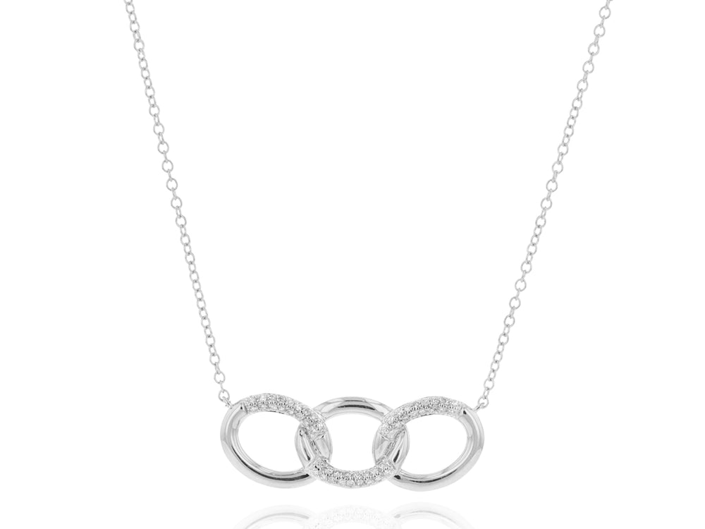 Load image into Gallery viewer, Triple Link Necklace