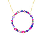 Dusk Enchanted Large Loop Necklace