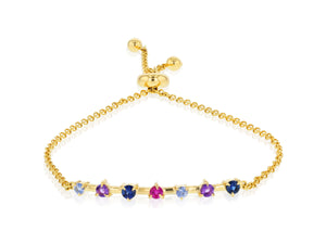 Dusk Enchanted Bar Chain Bracelet