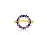 Dusk Enchanted Open Circle Ring
