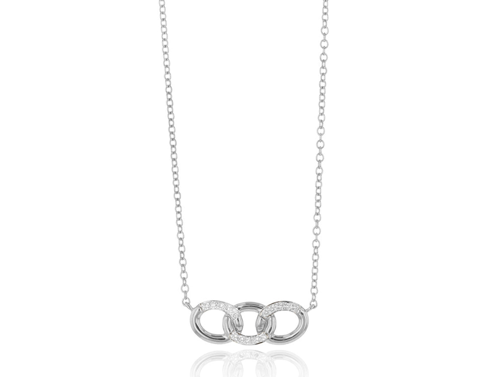 Mini Triple Link Necklace