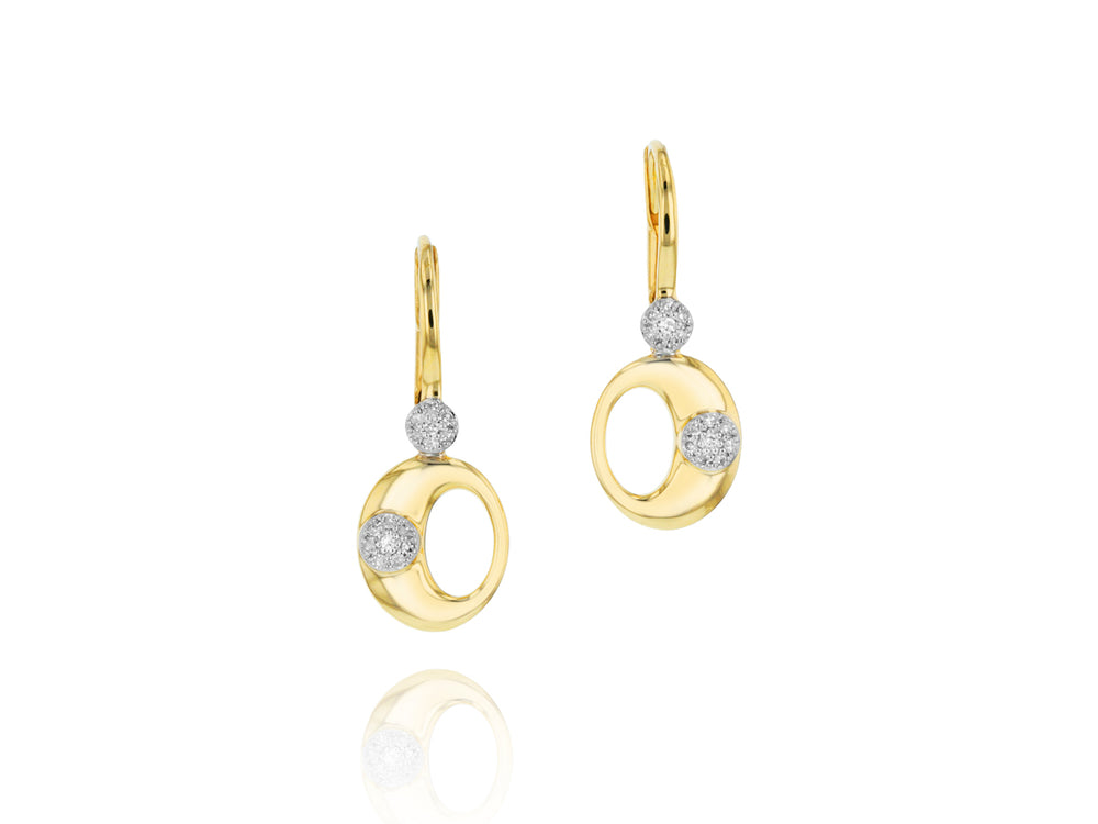 O-Link Leverback Earrings