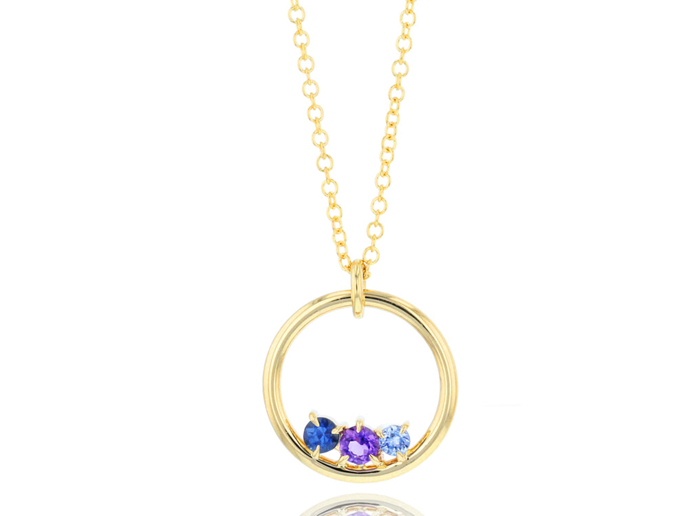 Dusk Enchanted Loop Necklace