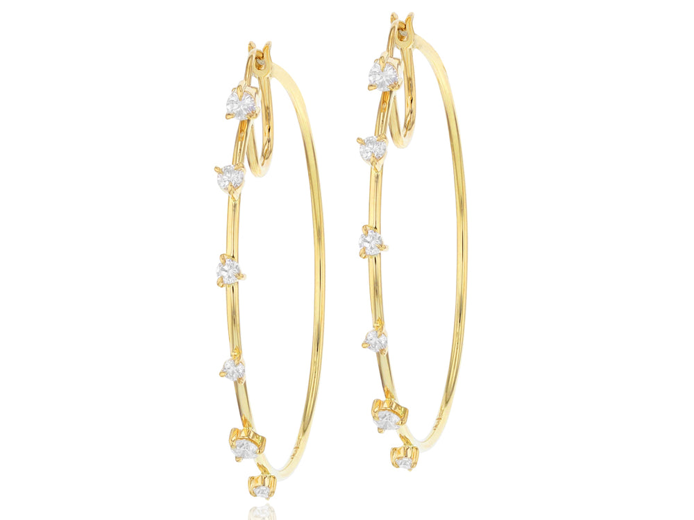 Enchanted Hoop Earrings