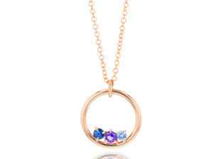 Load image into Gallery viewer, Dusk Enchanted Loop Necklace