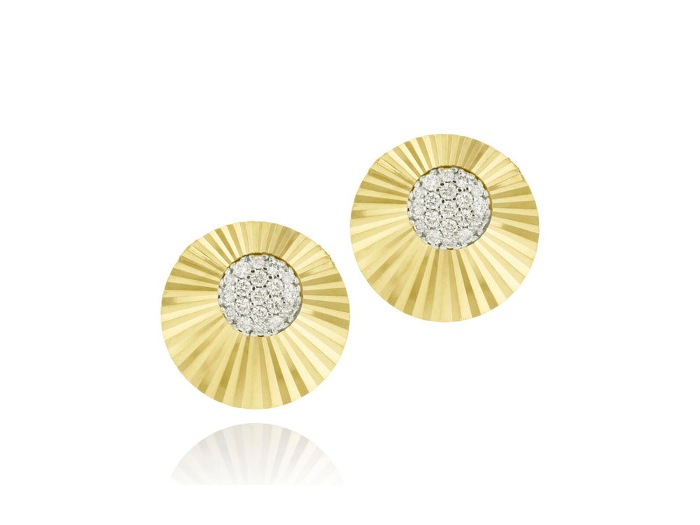 Offset Mini Aura Stud Earrings