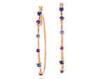 Dusk Enchanted Hoop Earrings