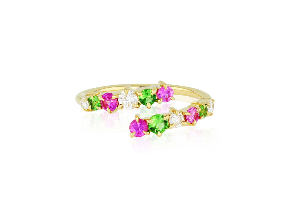 Bloom Enchanted Open Wrap Ring