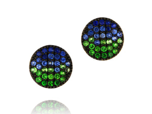 Load image into Gallery viewer, Marea Mini Infinity Stud Earrings