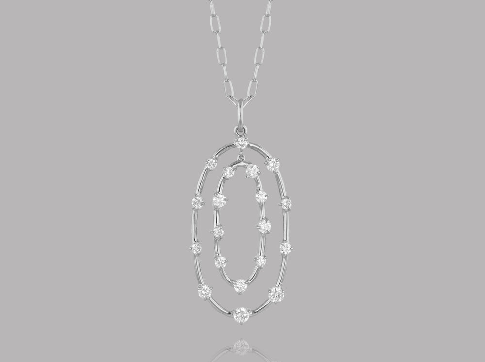 Load image into Gallery viewer, Double Loop Enchanted Necklace