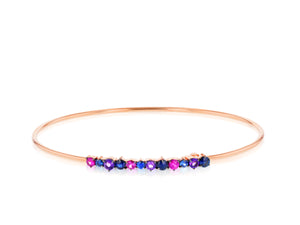 Dusk Enchanted Wire Strap Bracelet