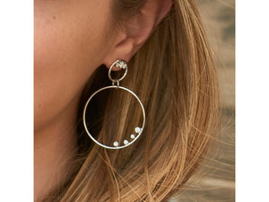 Load image into Gallery viewer, Enchanted Double Loop Earrings