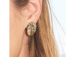 Aura Interlocking Stud Earrings