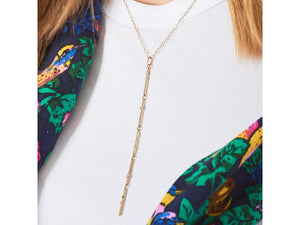 Load image into Gallery viewer, Enchanted Bar Drop Necklace