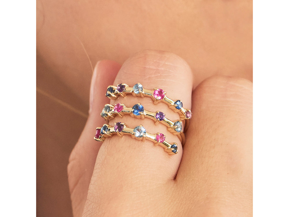 Dusk Enchanted Layer Wrap Ring