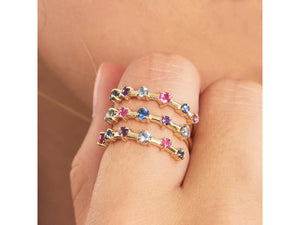 Load image into Gallery viewer, Dusk Enchanted Layer Wrap Ring