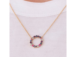 Dusk Enchanted Small Loop Necklace