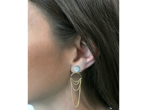 Infinity Drape Earrings