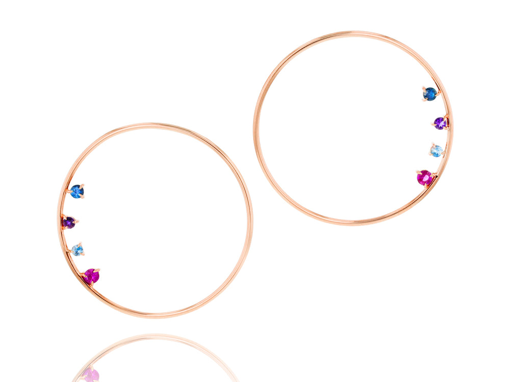 Dusk Enchanted Loop Earrings