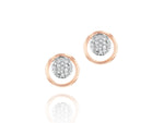 Infinity Loop Stud Earrings