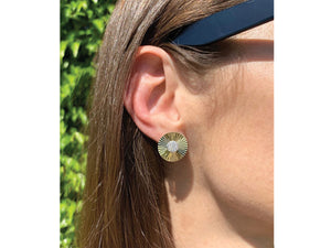 Large Aura Stud Earrings