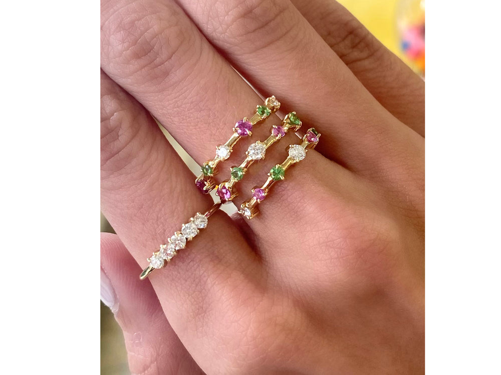 Bloom Enchanted Layer Wrap Ring