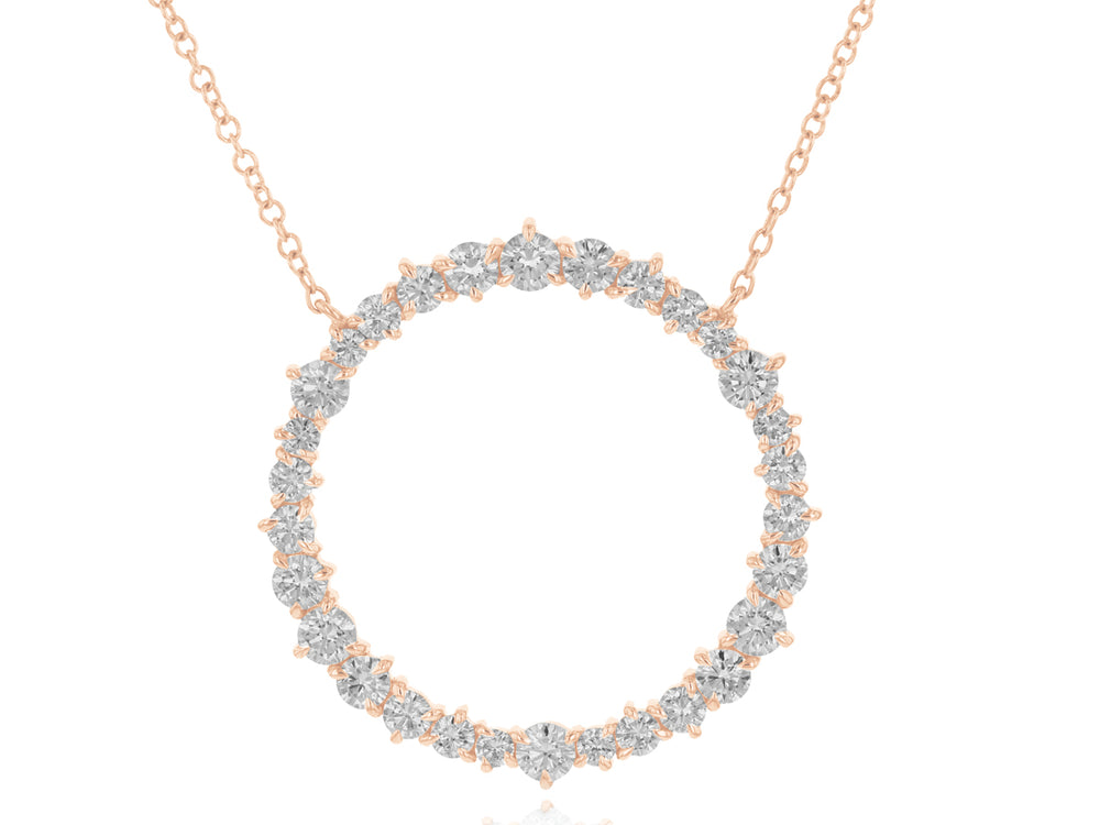 Load image into Gallery viewer, Enchanted Large Loop Necklace